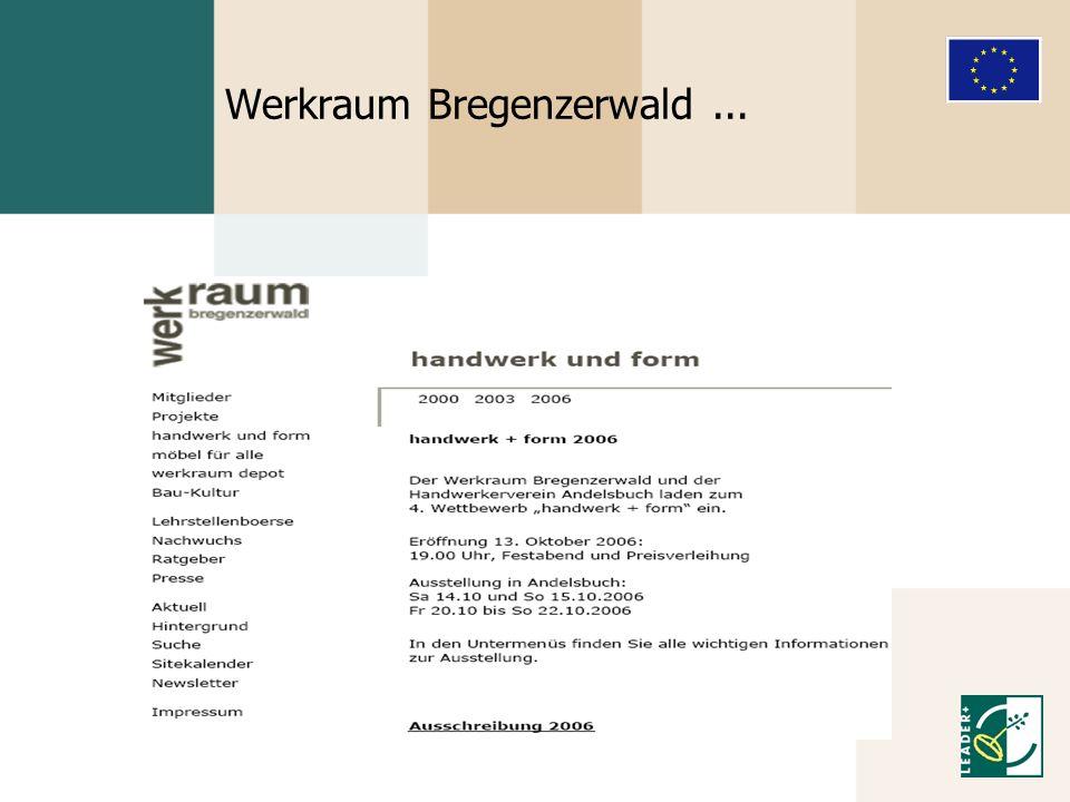 Werkraum Bregenzerwald...