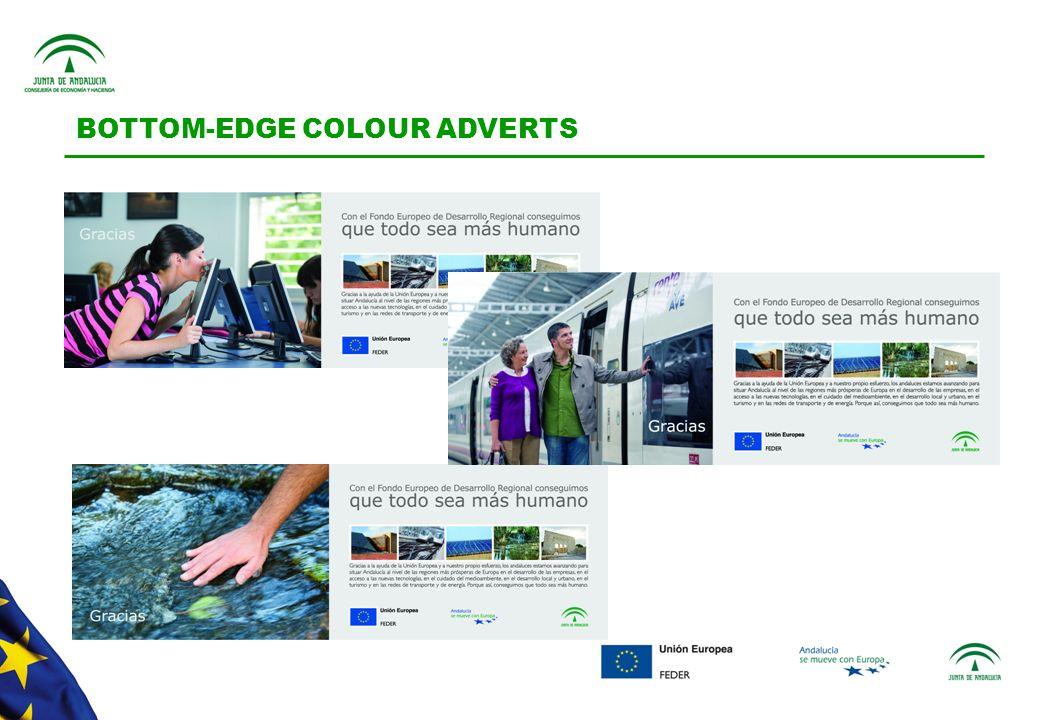 BOTTOM-EDGE COLOUR ADVERTS