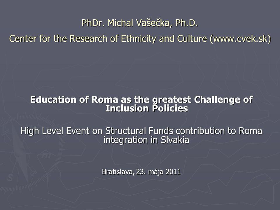 PhDr. Michal Vašečka, Ph.D.
