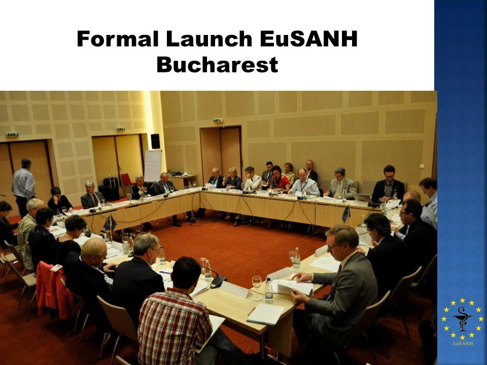 Formal Launch EuSANH Bucharest