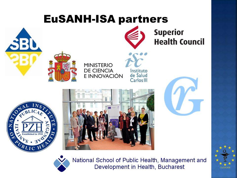 EuSANH-ISA partners