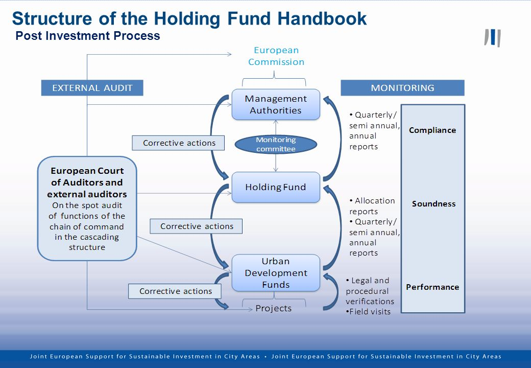 Post Investment Process Structure of the Holding Fund Handbook