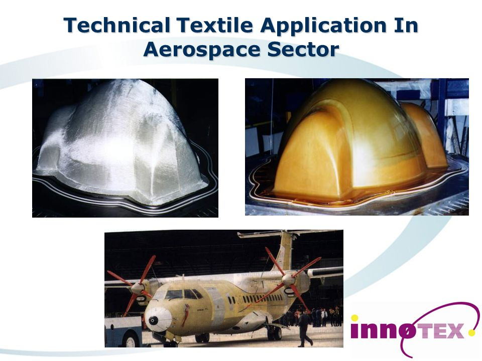 Technical Textile Industries Agriculture Automotive Aerospace Building/Construction/Engineering Medical/Hygiene Packaging Protective clothing Sportswe