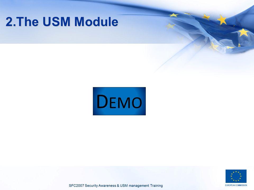 2.The USM Module D EMO