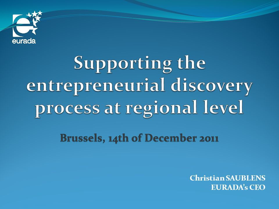 Integrated support for SMEs at regional level Research Innovation Skills IPR Compliance with standards and safety rules Prototype Proof of concept (technology and market) Demonstration Market replication Clients (public procurement / private sale) Enabling technologies and service innovation Feasibility support for R&D proposals New challenges need new approaches