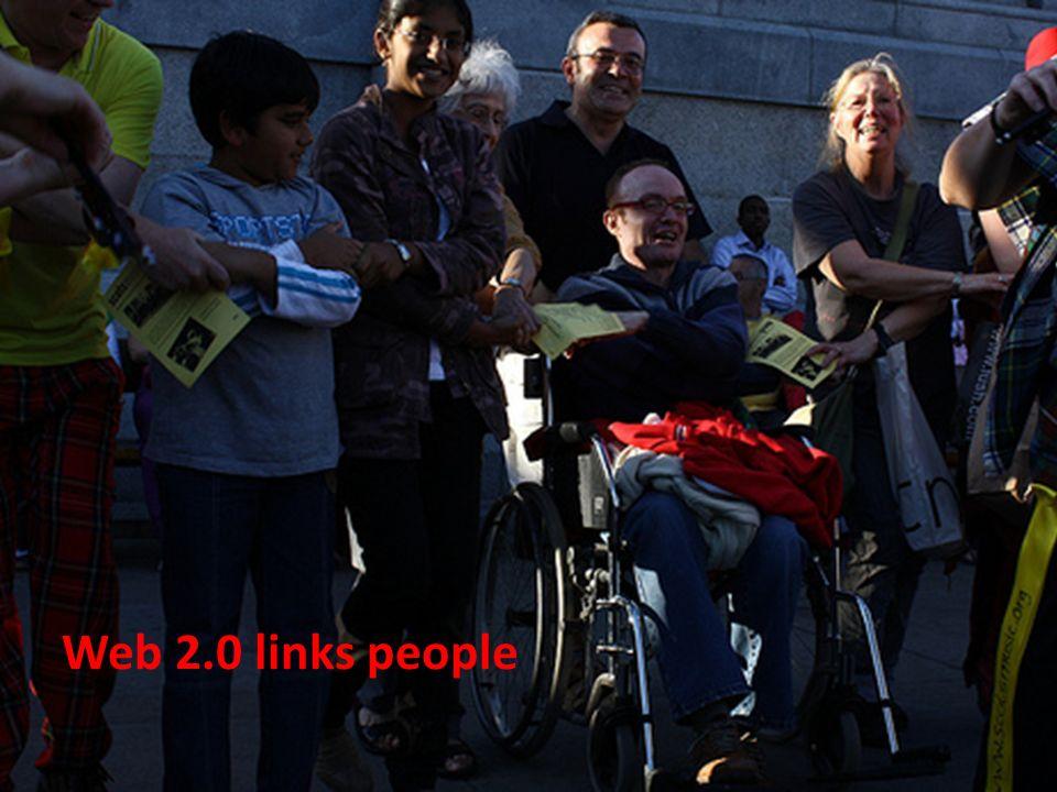 Web 2.0 links people