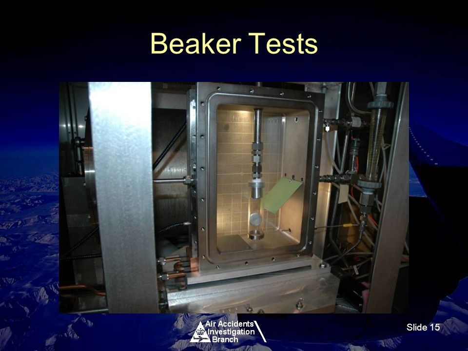 Slide 15 Beaker Tests