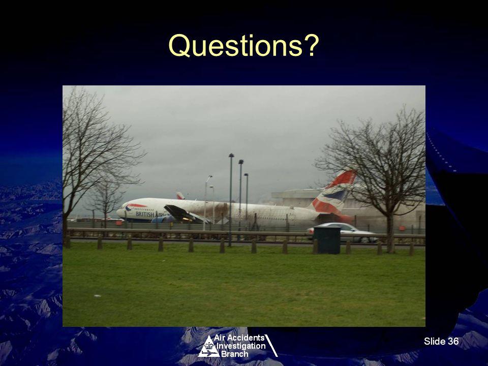 Slide 36 Questions