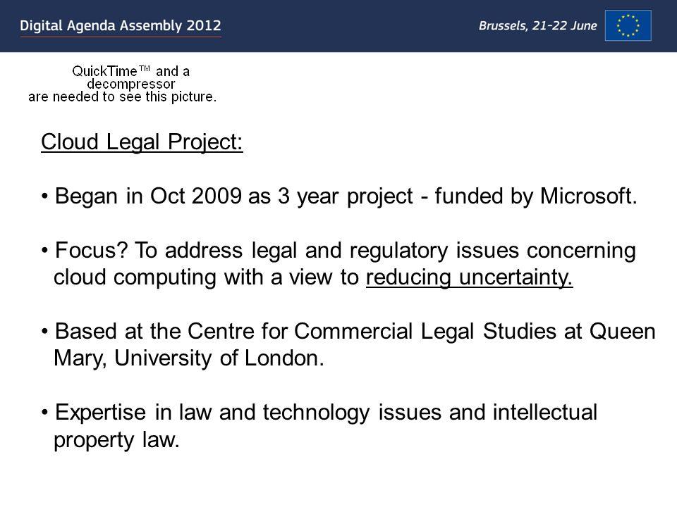 Cloud computing & Consumer Contracts.Ex post.
