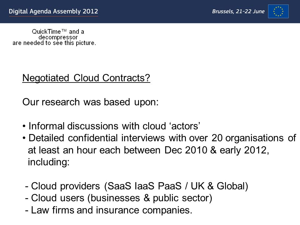 Negotiated Cloud Contracts.