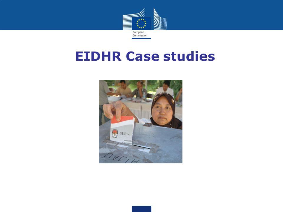 EIDHR Case studies