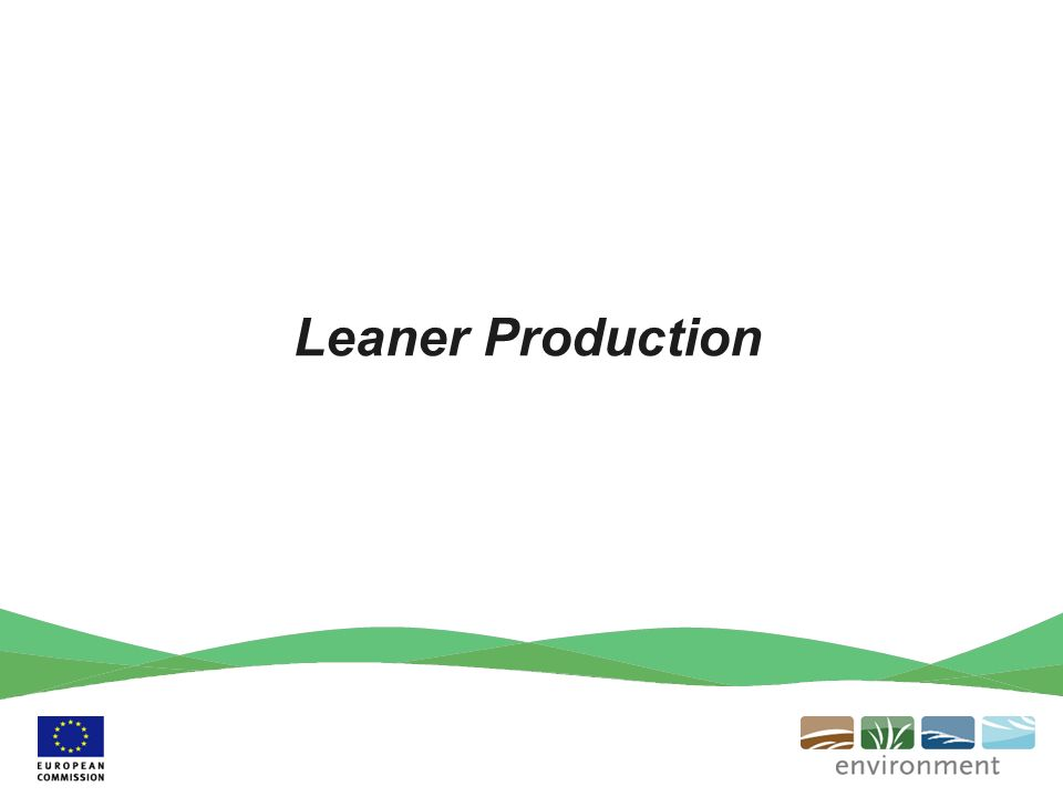 Leaner Production