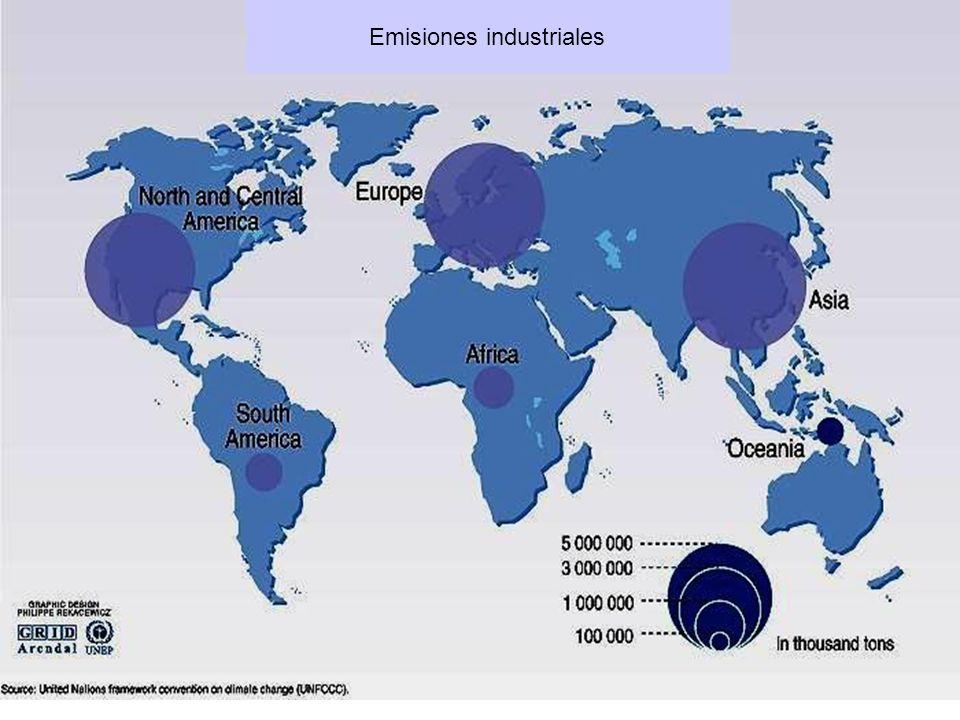 Emisiones industriales
