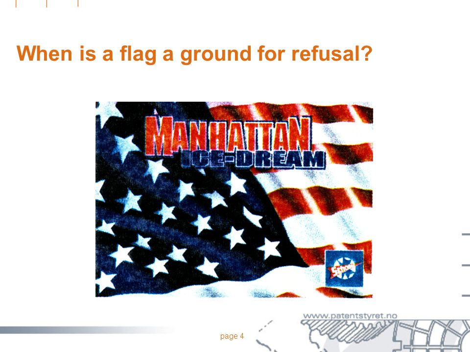 page 4 When is a flag a ground for refusal?