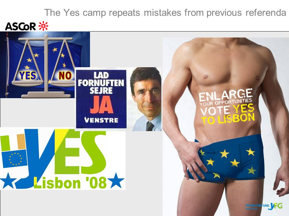 The Yes camp repeats mistakes from previous referenda