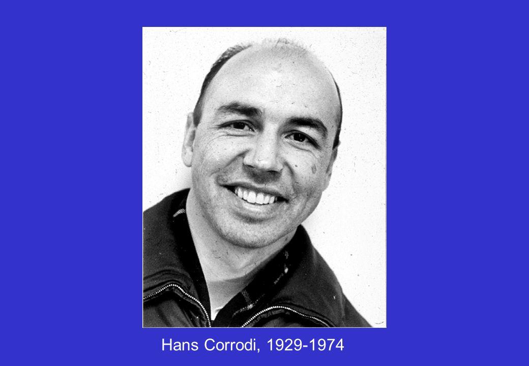 Hans Corrodi, 1929-1974