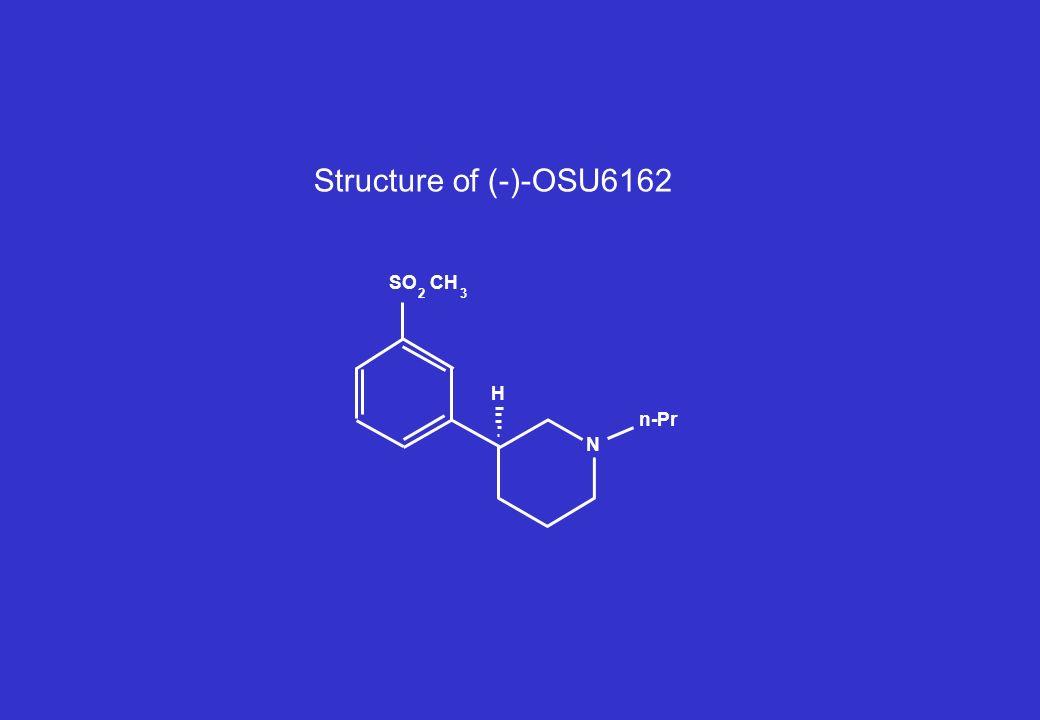 n-Pr SO 2 CH 3 N H Structure of (-)-OSU6162