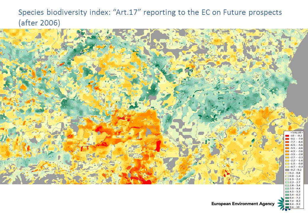 Species biodiversity index: Art.17 reporting to the EC on Future prospects (after 2006)