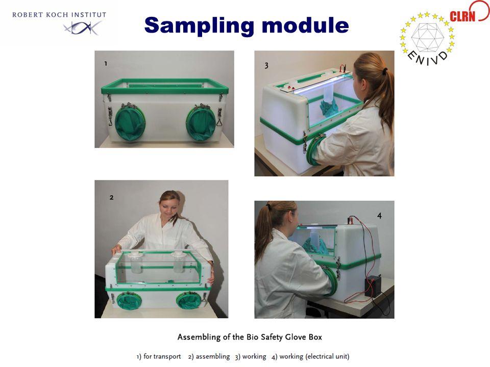 Sampling module
