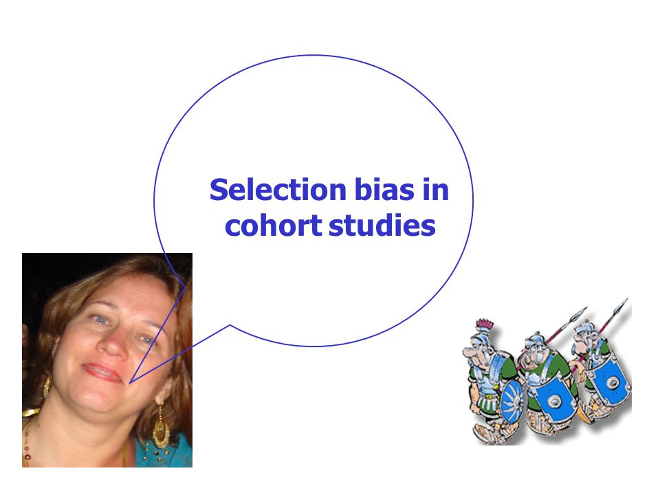 Selection bias in cohort studies