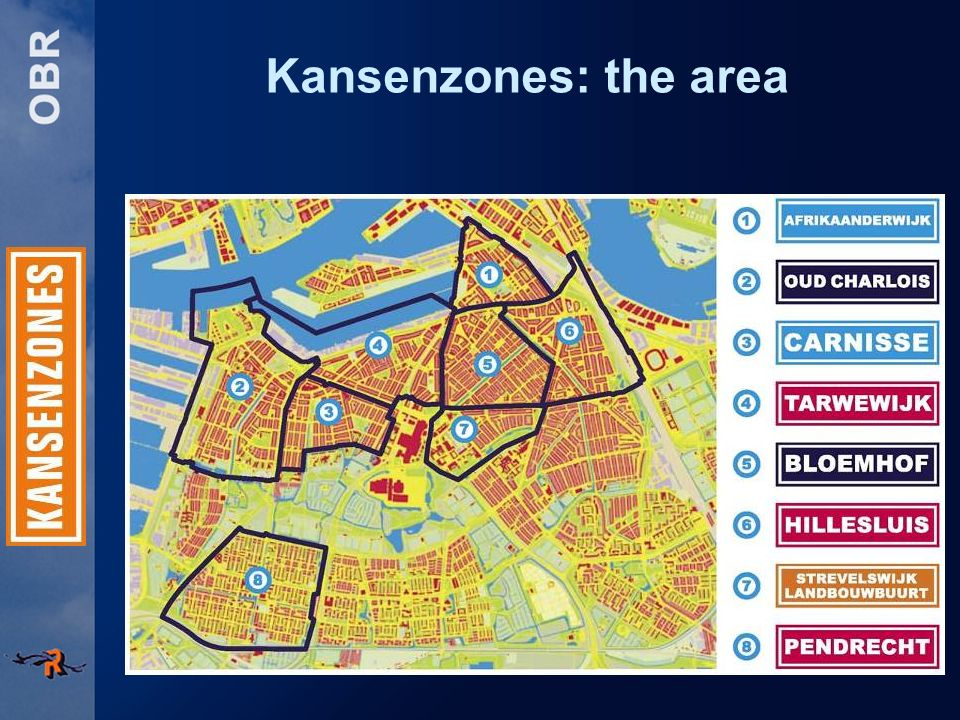Kansenzones: the area