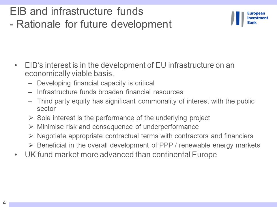 45 RSFF Facilities (i) SME/MidCap Corporates Sub- investmentgrae Funding Partner Bank Managed delegation Selection of partners performing project evaluation, transaction implementation; EIB focus on quality of partners credit process and eligibility verification RSFF Contribution EIB Risk Sharing typically on the basis of a guarantee, can involve refinancing of an intermediary or of co-financing with the intermediary Develop synergies with Financial Intermediaries Risk Sharing Profile Sub-projects : small/medium sized RDI investments; Promoters : SMEs (< 250 staff), Mid Caps (< 3.000 staff); Individual allocations : EUR 20.000 – 12.5M (25M) Financing /