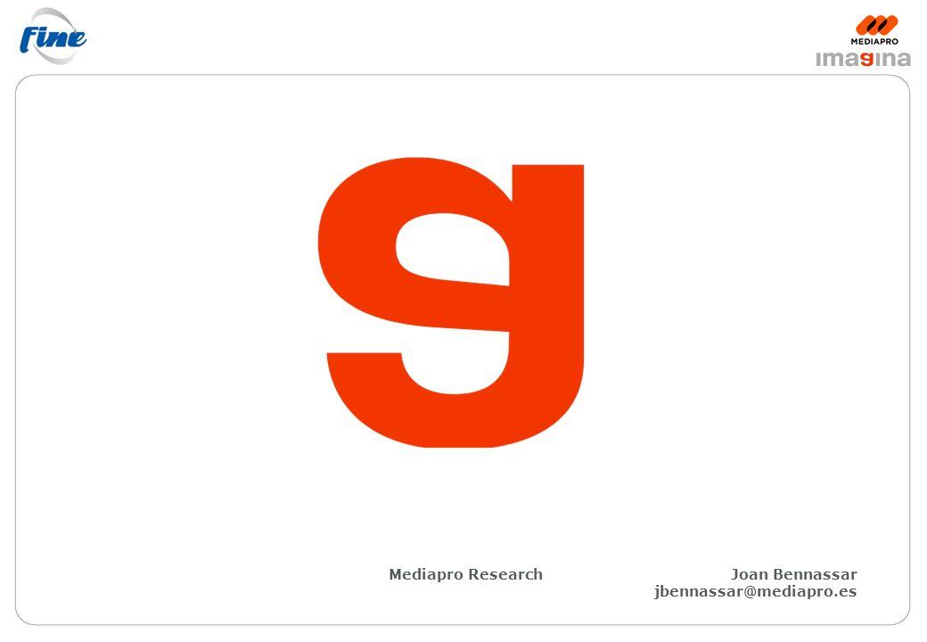 Mediapro ResearchJoan Bennassar jbennassar@mediapro.es