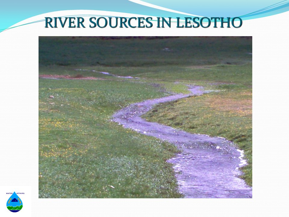 RIVER SOURCES IN LESOTHO