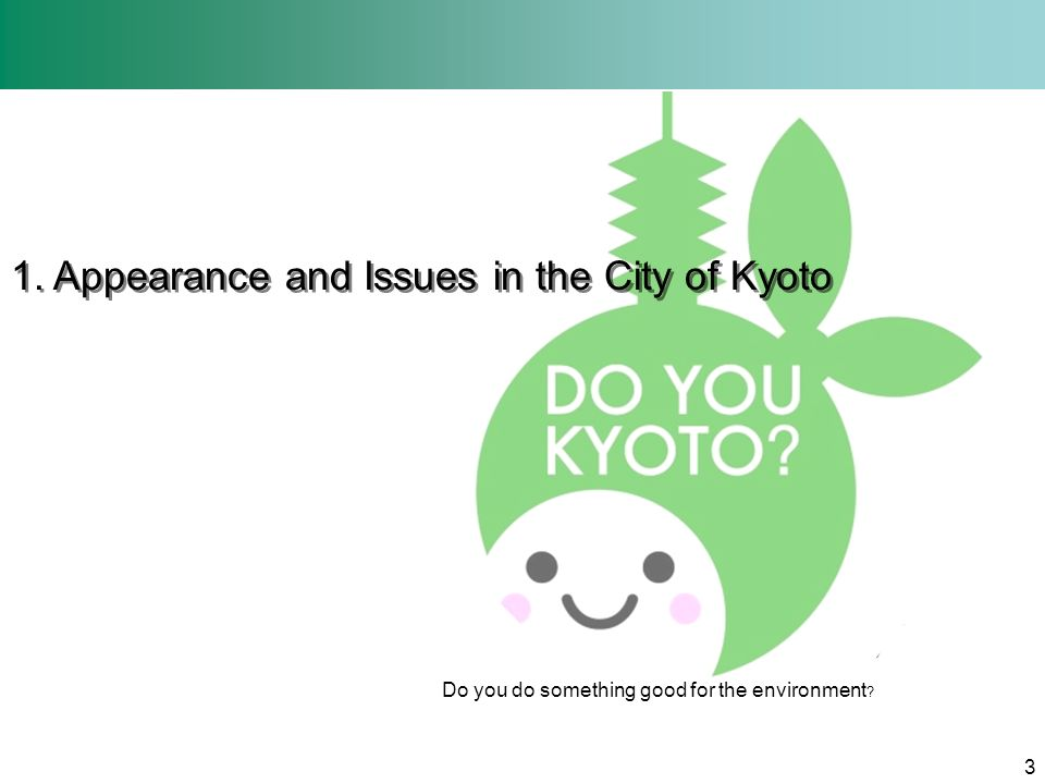 Kyoto: Appeal to the World