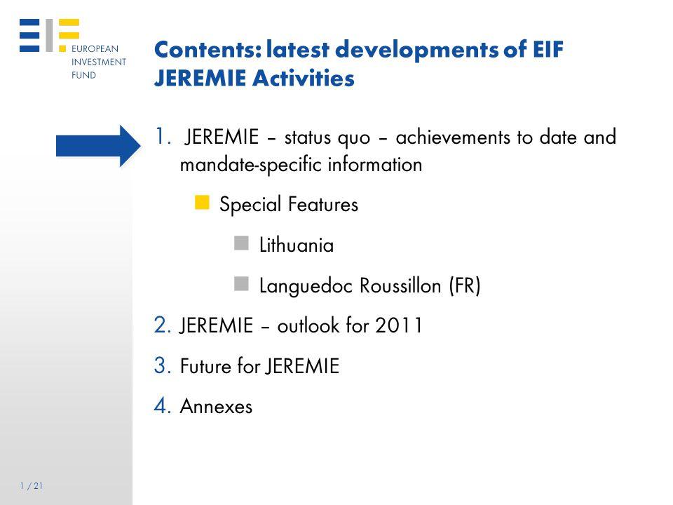 21 21 / 21 Contact European Investment Fund 96 boulevard Konrad Adenauer L-2968 Luxembourg Regional Business Development Tel.: (+352) 42 66 88 1 Fax: (+352) 42 66 88 280 www.eif.org