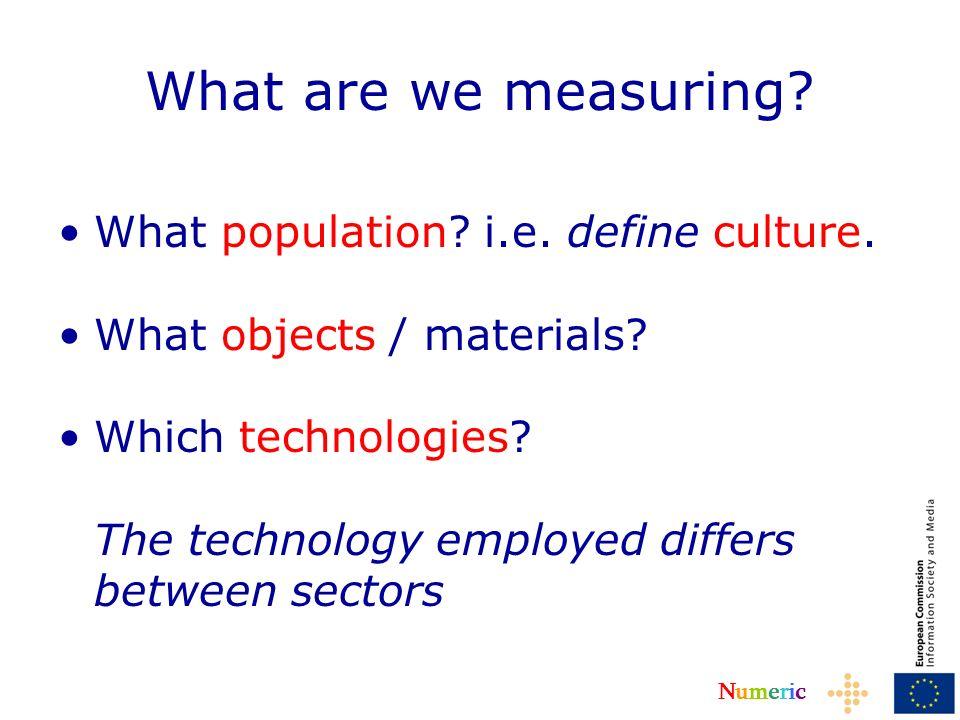 NumericNumeric What population.