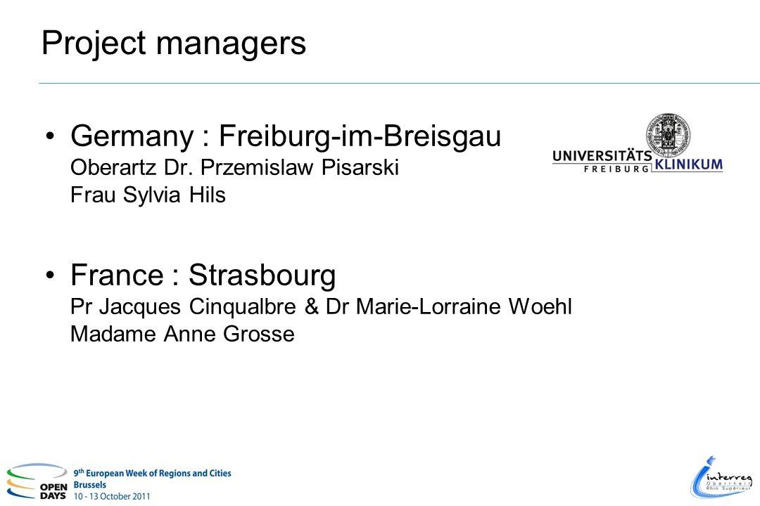 Project managers Germany : Freiburg-im-Breisgau Oberartz Dr.