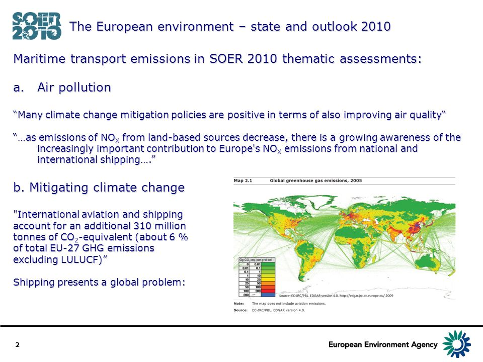 3 EEA and monitoring of EU27 GHG emissions: Annual submission of the greenhouse gas inventory of the European Union to the United Nations Framework Convention on Climate Change and the Kyoto Protocol.