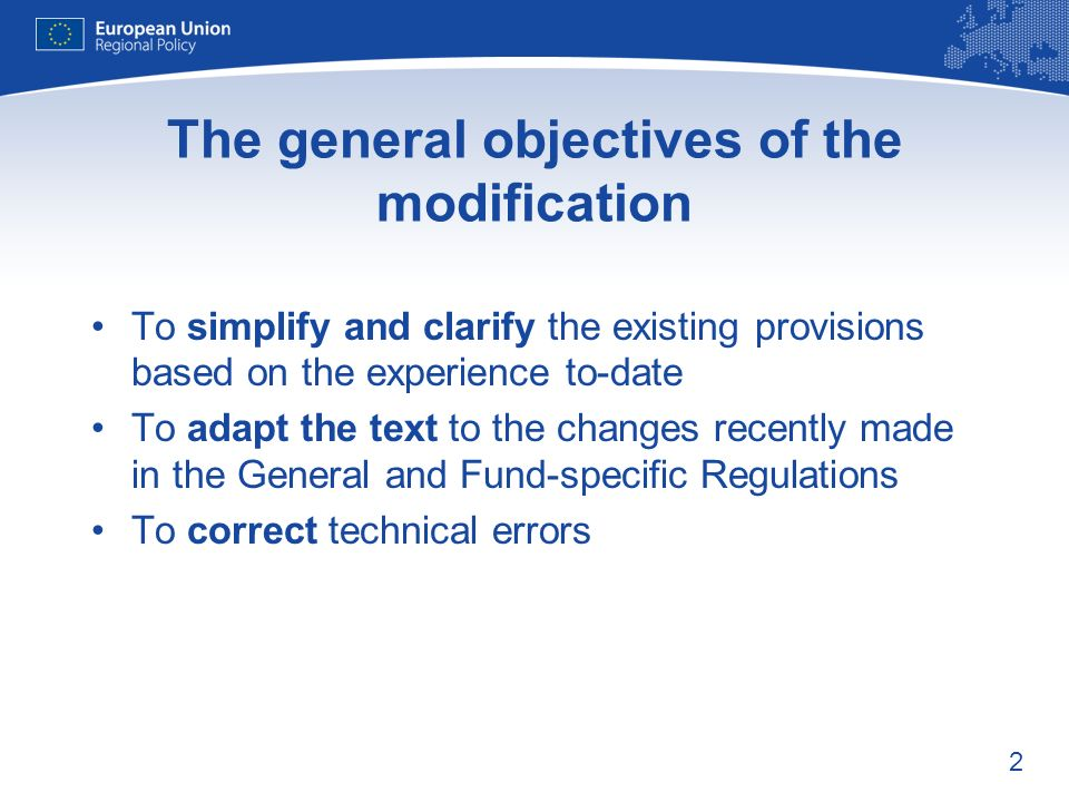 13 Reporting procedure on irrecoverable amounts Theme Current procedures Modification: Benefits / remarks: Reporting on irrecoverable amounts under Article 30(2) MMSS are obliged to transmit a special report for each individual case above the threshold together with detailed information No time limit for EC decision MMSS report using new table in Annex XI (revised Article 20(2)).
