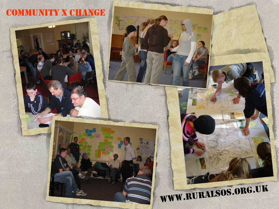 COMMUNITY X CHANGE WWW.RURALSOS.ORG.UK