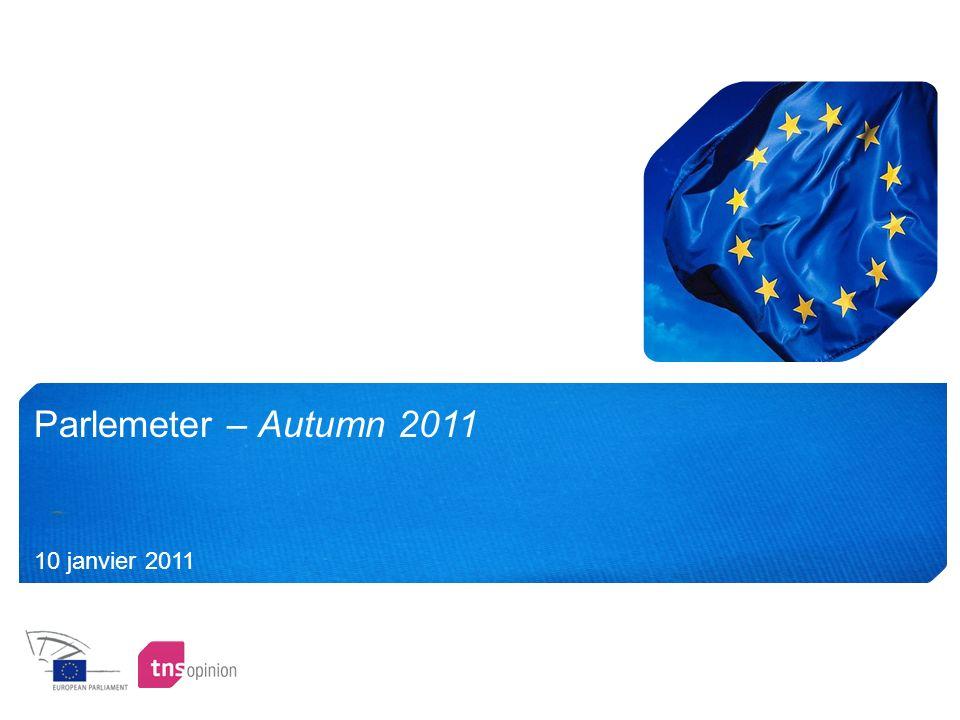Parlemeter – Autumn 2011 10 janvier 2011