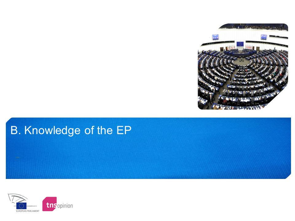 B. Knowledge of the EP