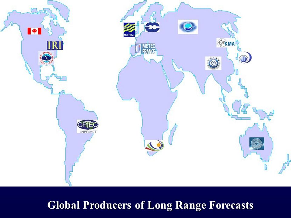 Global Producers of Long Range Forecasts