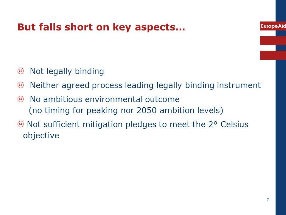 EuropeAid 8 What lies ahead.UNFCCC negotiation time.