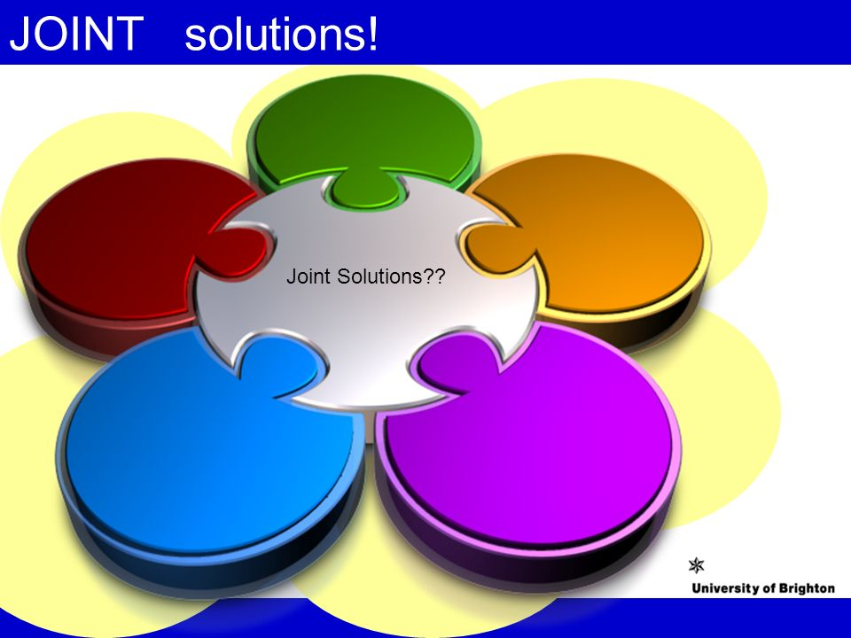 JOINT solutions! Joint Solutions