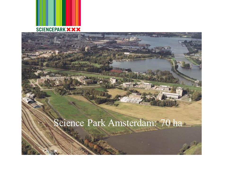 Science Park Amsterdam: 70 ha