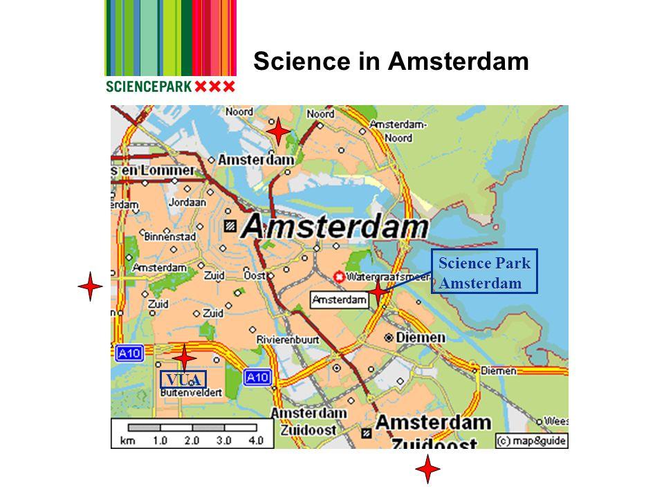 Science in Amsterdam Science Park Amsterdam VUA