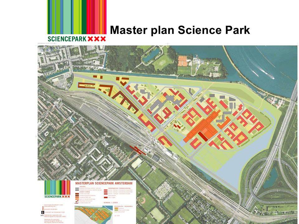 Master plan Science Park