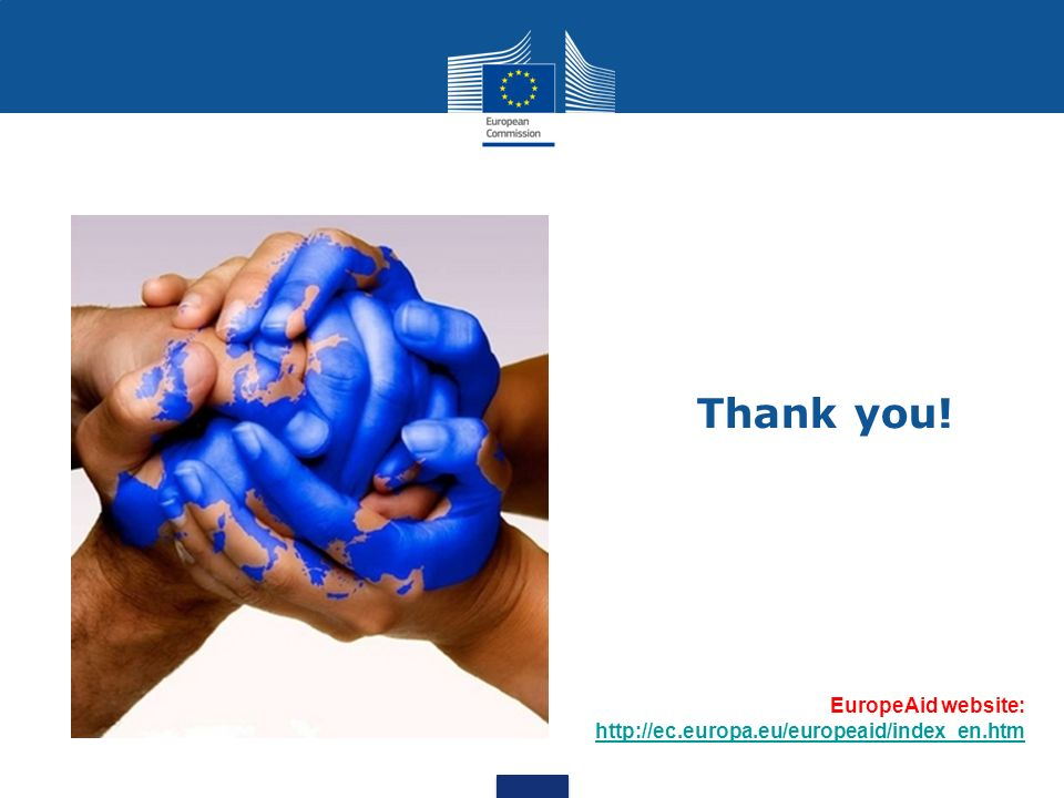 EuropeAid website:     Thank you!