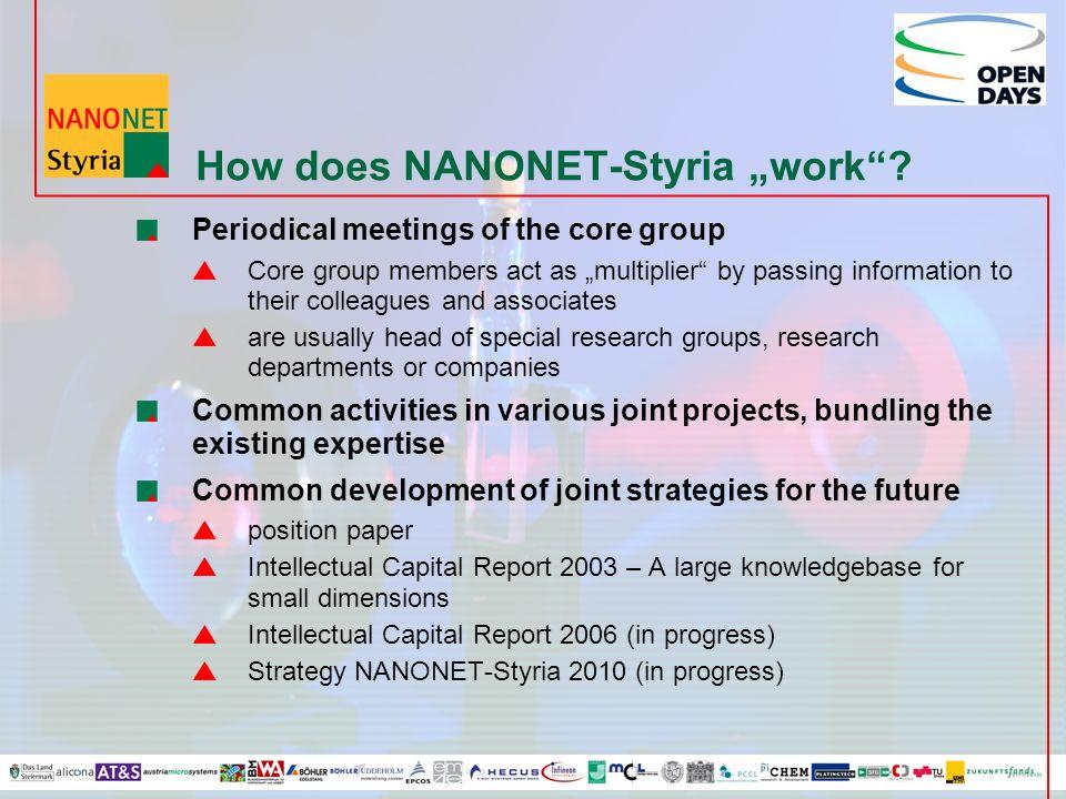 How does NANONET-Styria work.