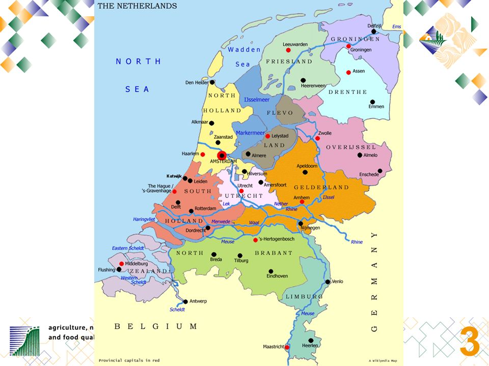 2 Basic facts and figures (1): The Netherlands: 12 provinces