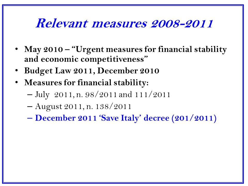 MAIN EFFECTS: GDP, PRIVATE CONSUMPTION, EMPLOYEES Fonte: ISTAT GDP, Private consumption: real percentage changes