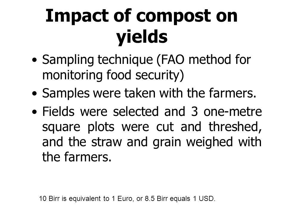 Training on Compost