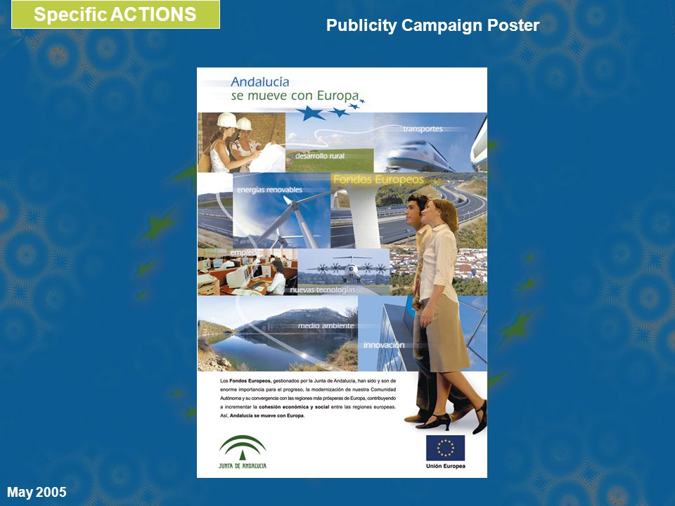 Specific ACTIONS May 2005 Publicity Campaign Poster