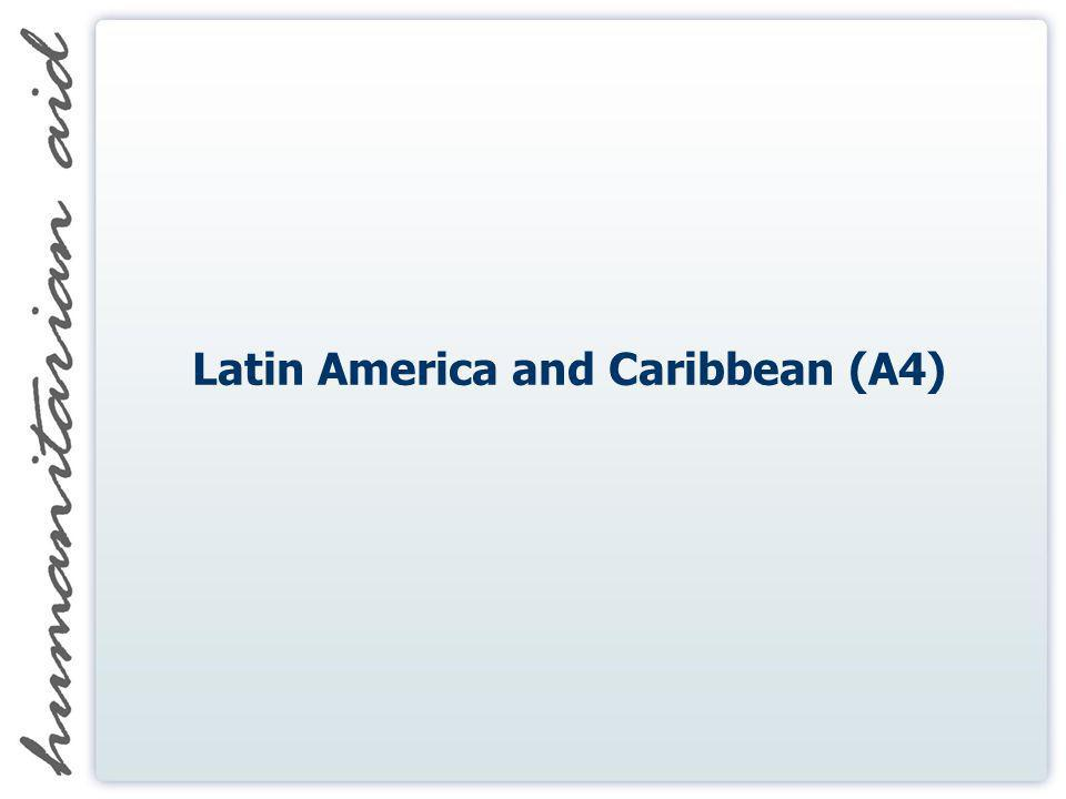 Latin America and Caribbean (A4)